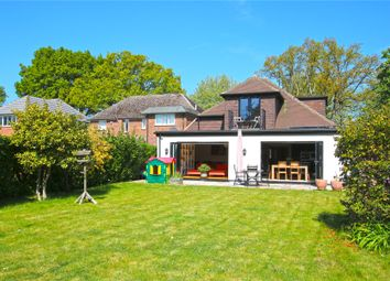 Thumbnail 4 bed detached bungalow for sale in Woodham, Surrey