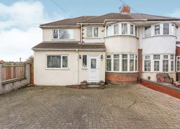 Thumbnail 5 bed semi-detached house for sale in Rectory Park, Sheldon, Birmingham, West Midlands