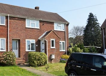 Thumbnail 2 bed end terrace house for sale in Escombe Road, Bishopstoke, Eastleigh