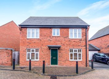 Thumbnail 3 bed detached house for sale in Trafalgar Way, Lichfield