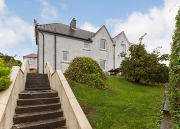 Thumbnail 3 bed semi-detached house for sale in Hawthorn Street, Clydebank, West Dunbartonshire