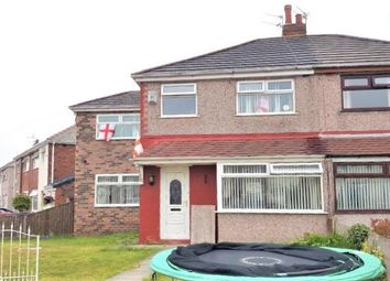 Thumbnail 4 bed semi-detached house for sale in Willow Grove, Whiston, Prescot