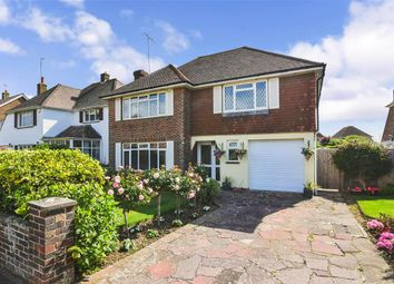 Thumbnail 3 bed detached house for sale in Petworth Avenue, Goring-By-Sea, Worthing, West Sussex