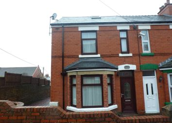 Thumbnail End terrace house for sale in Park Road, Tanyfron, Wrexham