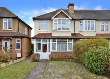 Thumbnail 3 bed end terrace house for sale in Braemar Road, Worcester Park, Surrey