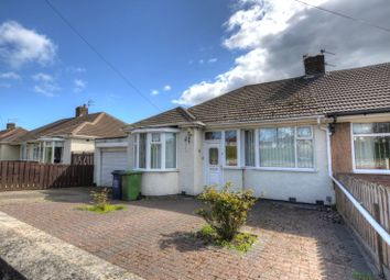Thumbnail 2 bed semi-detached bungalow for sale in St. Albans Crescent, North Heaton, Newcastle Upon Tyne