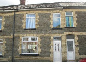 Thumbnail 3 bed terraced house for sale in Edward Street, Cwmcarn, Newport.