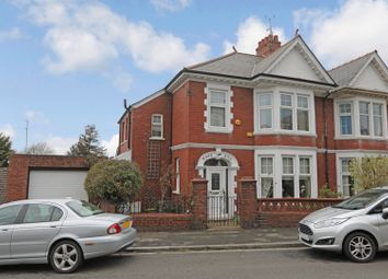 Thumbnail 4 bedroom semi-detached house for sale in Eveswell Park Road, Newport
