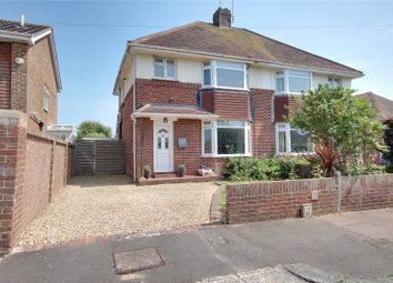 3 bed semi-detached house for sale in Seafield Avenue, Goring By Sea, Worthing, West Sussex BN12