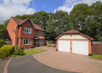 Thumbnail 4 bed detached house for sale in Mill View Rise, Prudhoe