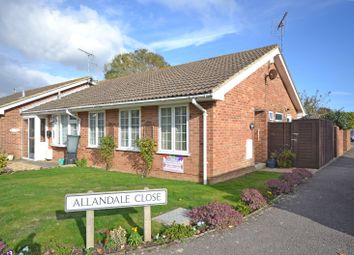 Thumbnail 2 bed terraced bungalow for sale in Allandale Close, Selsey