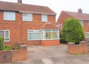 Thumbnail 3 bed semi-detached house for sale in Etal Avenue, North Shields