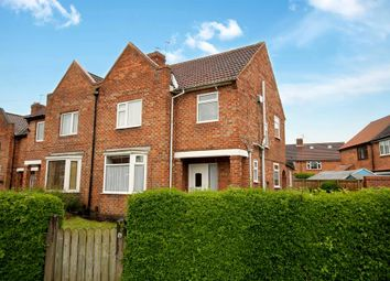 Thumbnail 3 bedroom semi-detached house for sale in Swale Avenue, Dringhouses, York