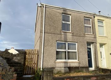 Thumbnail 3 bed semi-detached house for sale in Ffos Yr Efail Terrace, Pontarddulais, Swansea