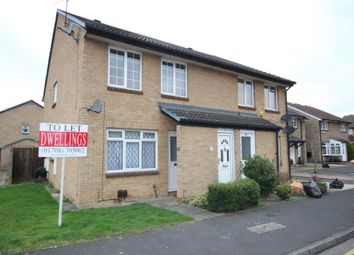 Thumbnail 1 bed semi-detached house to rent in Juniper Way, Harold Wood