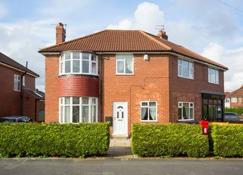 Thumbnail 4 bedroom semi-detached house for sale in Rawcliffe Drive, Rawcliffe, York