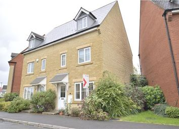 Thumbnail 3 bed semi-detached house for sale in Greenacre Way, Bishops Cleeve