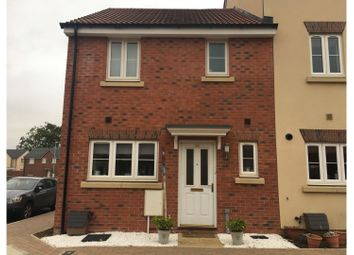 Thumbnail 3 bed end terrace house to rent in Buxton Way, Swindon