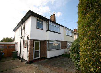 Thumbnail 3 bedroom semi-detached house to rent in Fairfield Way, Ewell, Epsom