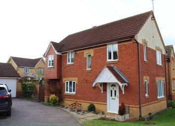Thumbnail 4 bed detached house for sale in Anjou Court, Duston, Northampton