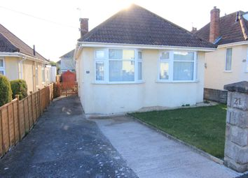 Thumbnail 3 bed bungalow to rent in Hill Road, Worle, Weston-Super-Mare