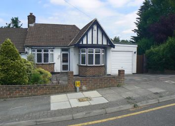 Thumbnail 2 bed semi-detached bungalow for sale in The Meadway, Chelsfield, Kent