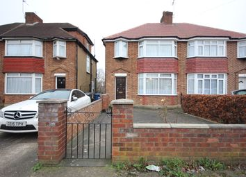 Thumbnail 3 bed semi-detached house for sale in Montrose Avenue, Edgware