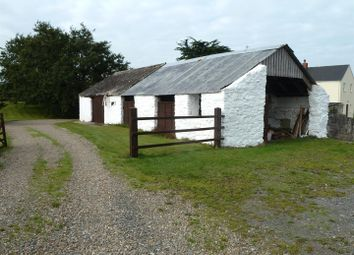 Thumbnail 3 bed barn conversion for sale in Rhoscrowther, Pembroke