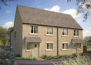 "Thumbnail 3 bed semi-detached house for sale in ""The Slimbridge"" at Morecombe Way, Fairford"