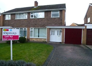Thumbnail 3 bed property to rent in Station Road, Hagley, Stourbridge