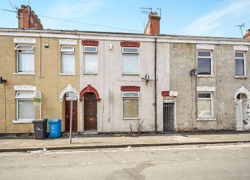 Thumbnail 3 bedroom terraced house for sale in Ruskin Street, Hull