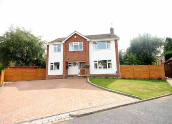 Thumbnail 4 bed detached house for sale in Convent Close, Kenilworth