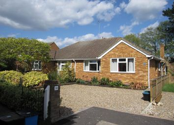 Thumbnail 3 bed semi-detached bungalow to rent in The Lea, Egham, Surrey
