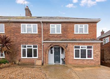 Thumbnail 5 bed semi-detached house for sale in Leigh Close, Rowtown, Surrey