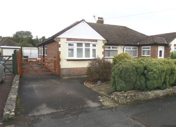 Thumbnail 2 bed semi-detached bungalow for sale in Cranleigh Road, Portchester
