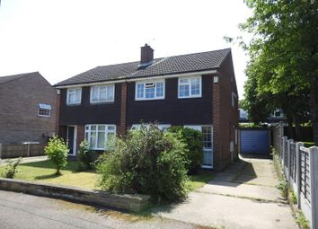 Thumbnail 3 bed semi-detached house for sale in Mitchell Close, Hempshill Vale, Nottingham