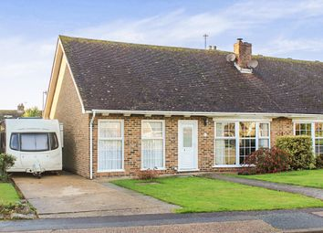 Thumbnail 3 bed semi-detached bungalow for sale in Lindfield Avenue, Seaford