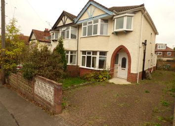 Thumbnail 3 bed semi-detached house for sale in Chessel Crescent, Southampton