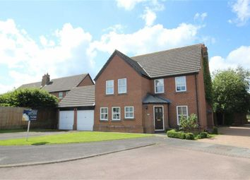 Thumbnail 4 bedroom detached house for sale in The Bramptons, Shaw, Swindon