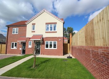 Thumbnail 3 bed semi-detached house for sale in Kingfisher Close, Cherry Willingham, Lincoln