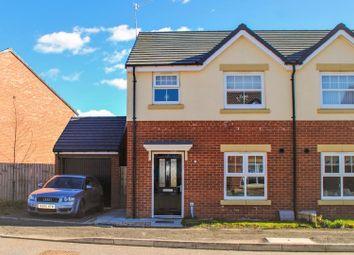 Thumbnail 3 bed semi-detached house for sale in Benedict Lane, Hebburn