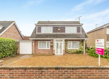 Thumbnail 3 bed detached house for sale in Hall Lane, West Winch, King's Lynn