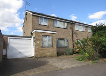 Thumbnail 3 bed semi-detached house for sale in Stour Close, Newport Pagnell