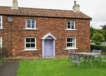 Thumbnail 3 bed cottage to rent in Brawby, Malton