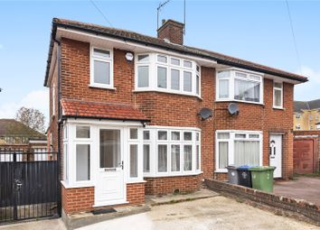 Thumbnail 3 bed semi-detached house for sale in Brinkburn Close, Edgware, Middlesex