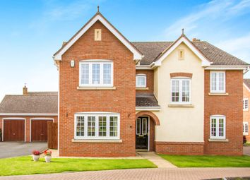 Thumbnail 5 bedroom detached house for sale in Riddings Hill, Balsall Common, Coventry