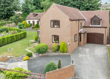 Thumbnail 5 bedroom detached house for sale in Hall Park Rise, Kippax, Leeds