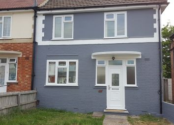 Thumbnail 3 bed end terrace house to rent in Abbey Avenue, Wembley