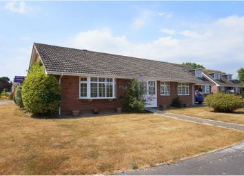 Thumbnail 3 bed detached bungalow for sale in Harford Close, Lymington