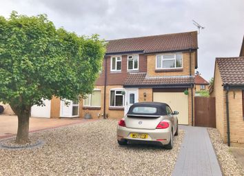 Thumbnail 3 bed semi-detached house for sale in Ferrers Drive, Grange Park, Swindon, Wiltshire